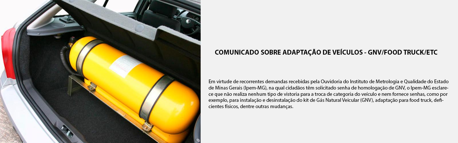Adaptação de veículos GNV